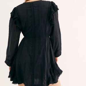 Free People Isabella dress embroidered size 6
